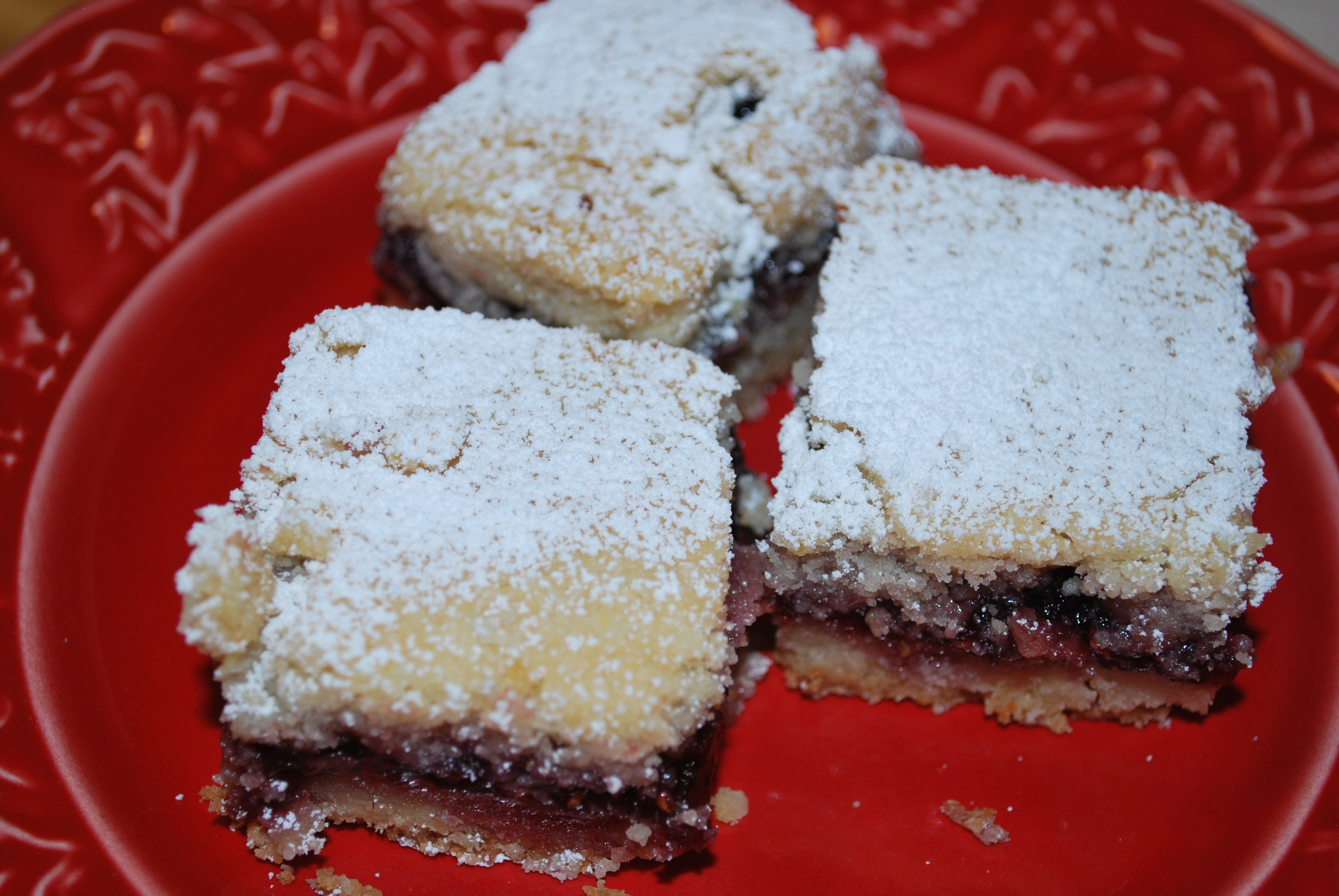 Raspberry Linzer Bars | The baKING Way!