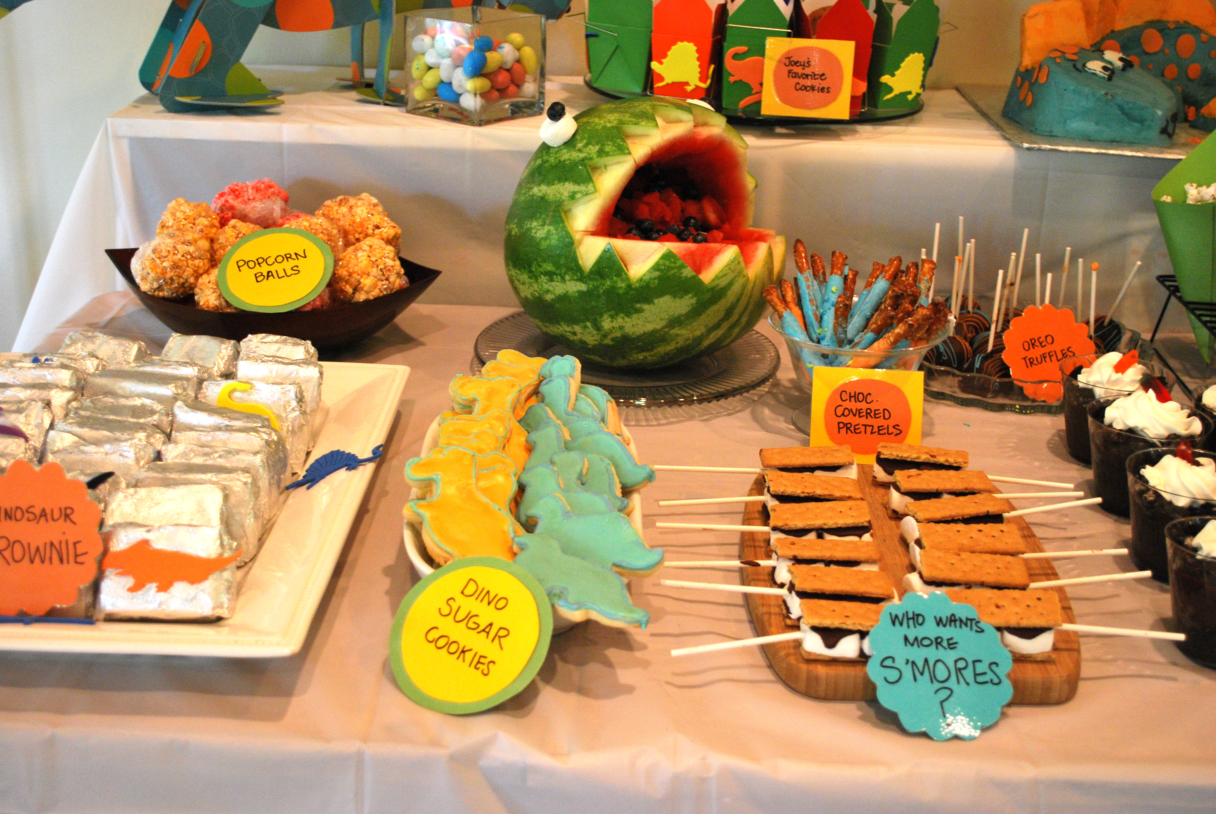 Dinosaur Themed Birthday Party The baKING Way